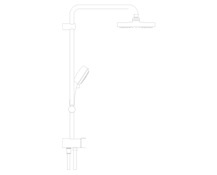 Revit, Bim, Store, Components, MEP, Object, Grohe, Plumbing, Fixtures, 14, METRIC, New, Tempesta, Cosmopolitan, System, 200, 27394001