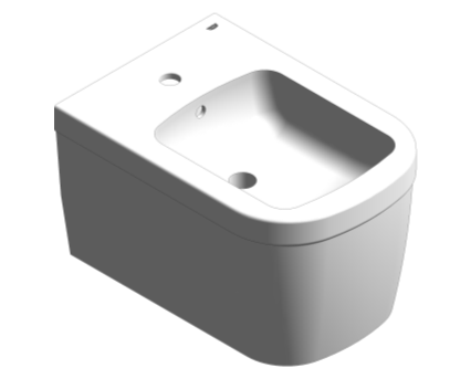 Revit, Bim, Store, Components, MEP, Object, Grohe, Euro, Ceramic, Wall, Hung, Bidet, 39208000