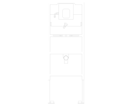 Revit, Bim, Store, Components, MEP, Object, Grohe, Plumbing, Fixtures, METRIC, Hot, Cold, Water, WC, Bathroom, Rapid, SL, For, Urinal, 38786001