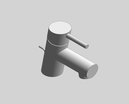 Revit, Bim, Store, Components, MEP, Object, Grohe, Plumbing, Fixtures, 14, METRIC, Concetto, Single, Lever, Basin, Mixer, 34702001-34702EN1