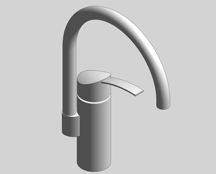 grohe eurosmart ohm single lever sink mixer high spout 33202002 bimstore. Black Bedroom Furniture Sets. Home Design Ideas