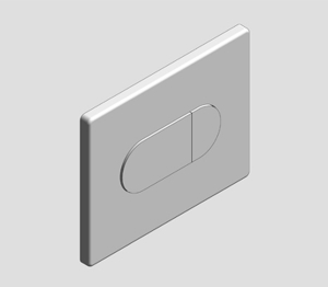 Grohe Arena Cosmopolitan WC Wall Plate - 38858000