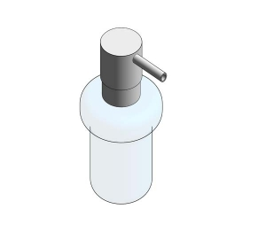 Revit, Bim, Store, Components, MEP, Object, Grohe, Plumbing, Fixtures, METRIC, Essentials, Soap, Dispenser, 40394001