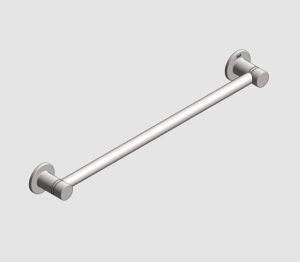 Revit, Bim, Store, Components, MEP, Object, Grohe, Plumbing, Fixtures, METRIC, Essentials, Towel, Rail, 40688001