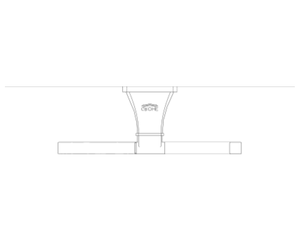 Revit, Bim, Store, Components, MEP, Object, Grohe, Plumbing, Fixtures, METRIC, Grandera, Toilet, Paper, Holder, 40625000