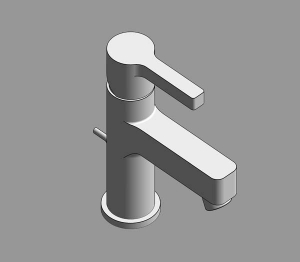 Lineare Single - Lever Basin Mixer