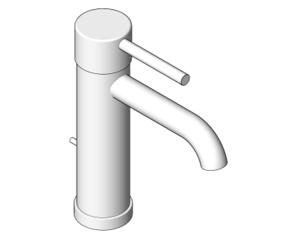 Revit, Bim, Store, Components, MEP, Object, Grohe, Plumbing, Fixtures, 14, METRIC, Essence, Single, Lever, Sink, Mixer, 23591001