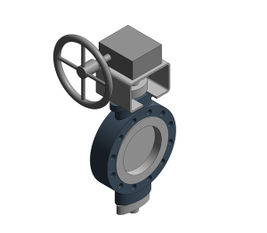 Fig. 4993G - SBV - Steel Fully-lugged Double Regulating Valve - PN25
