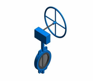 Fig. 951G - Semi-lugged Butterfly Valve