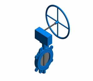 Fig. 970G - Fully-lugged Wafer Pattern Butterfly Valve