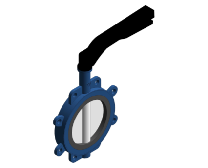 Revit, Bim, Store, Components, MEP, Object, Herz, Valves, Plumbing, Fixtures, 13, Metric, fully,lugged,butterfly,Valve, WRAS,approved,PN16,HV-BF-FLL,Lever,handle,FLL,BF,HV