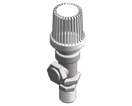 Revit, BIM, Store, Components, Architecture, Object, Free, Download, MEP, Mechanical, Pipe, Accessory, Honey, well, Thermostatic, Radiator, Valve, VT15