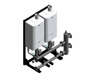 Evomax - Low Height Condensing Boiler (Configurations)