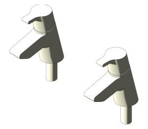 Active Basin Pillar Taps (B8074)
