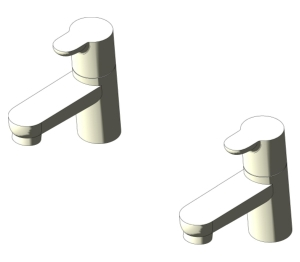 Concept Basin Pillar Taps (B9925)