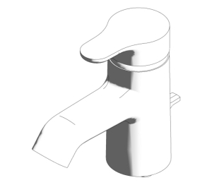Jasper Morrison Single Lever One Hole Basin Mixer (E6396;E6397)