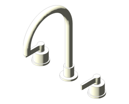 Bim, Content, Object, Component, BIM, Store, Revit, Ideal, Standard, Basins, Water, Bathroom, Ideal, Standard, Silver, Dual, Control, Three, Hole, Basin, Mixer, E0061, E0062