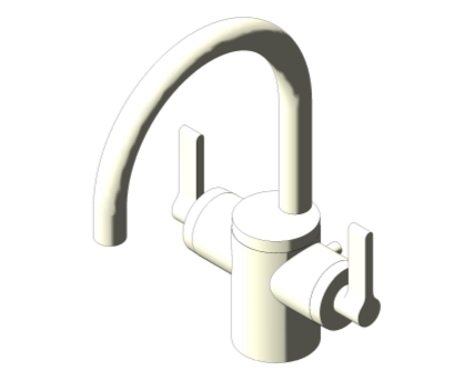 Bim, Content, Object, Component, BIM, Store, Revit, Ideal, Standard, Basins, Water, Bathroom, Ideal, Standard, Silver, Dual, Control, One, Hole, Basin, Mixer, E0065, E0066