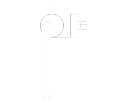 Bim, Content, Object, Component, BIM, Store, Revit, Ideal, Standard, Basins, Water, Bathroom, Ideal, Standard, Silver, Single, Lever, One, Hole, Basin, Mixer, E0067, E0068