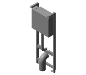 1100mm In-wall System for WC (E9324;E3927)