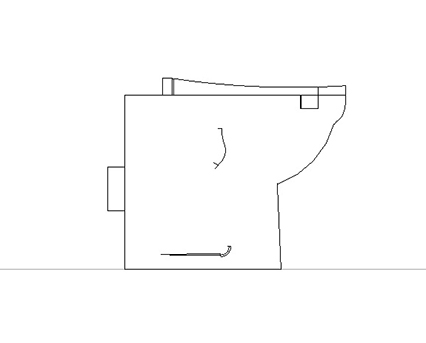 Bim, Content, Object, Component, BIM, Store, Revit, Ideal, Standard, WC, Water, Bathroom, Contour, 21, Back, To, Wall, Standard, Height, WC, Suite, S3056