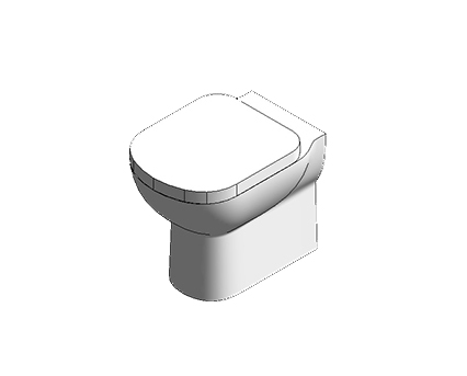 Bim, Content, Object, Component, BIM, Store, Revit, Ideal, Standard, WC, Water, Bathroom, Tempo, Back, to, Wall, WC, Suite, T3279