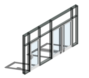 350 Door - Double Acting (Curtain Wall Door)