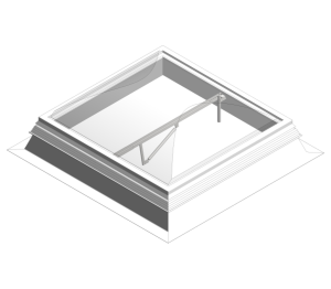 Day-Lite Kapture Smoke Roof Light