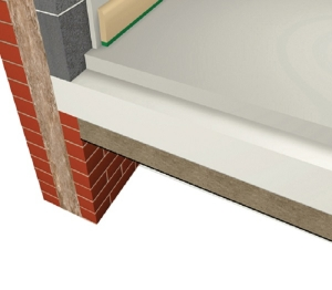 Exposed Concrete Soffit - U-value - 0.21 W/m²K.