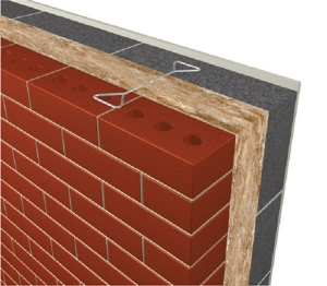 Masonry Cavity Wall - U-value - 0.23 W/m²K