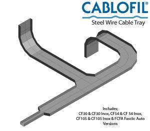 Cablofil® Steel Wire Cable Tray