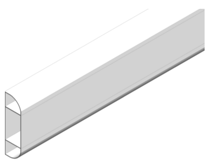 Revit, Bim, Store, Components, Object, Mechanical, Fixture, 14, Sterling, Profile, 1, Marshall, Tufflex, dado, skirting, trunking, curve