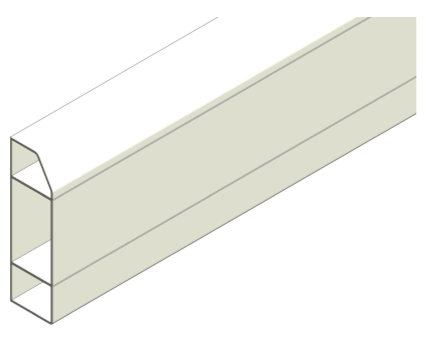 Revit, Bim, Store, Components, Object, Mechanical, Fixture, 14, Sterling, Profile, 2, Marshall, Tufflex, dado, skirting, trunking