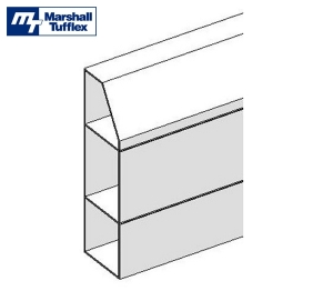 Revit, Bim, Store, Components, Object, Marshall, Tufflex, Trunking, Dado, Skirting, XL302, Aluminium