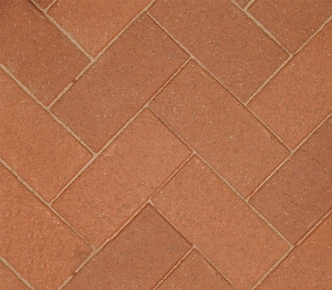 50mm Hadley Red Mixture Wirecut Best Chamfered Paver