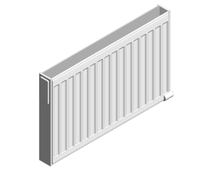 Revit, BIM, Download, Free, Components, object, objects, Myson, radiator, heating, mechanical, range, equipment, radiators, Finesse