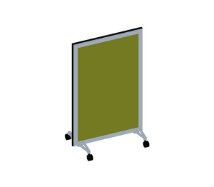 Bay - Mobile Room Privacy Screens 300 Series - 1870mm High