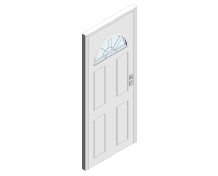 Revit, BIM, Download, Free, Components, Object, Single, Door, Leaf, Doorset, Shelley