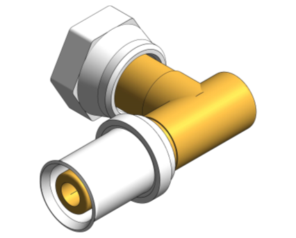 BIM, Content, Object, Component, bimstore, Autodesk, Revit, library, MEP, System, Nominal Diameter, Polypipe, PolySure, Brass, Bent, Tap, Connector