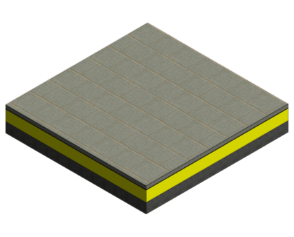 Revit, BIM, Download, Free, Components, object, objects, Proteus, Waterproofing, Cold, Melt, Flat, Green, Roof, Membrane, Inverted, Protected, System, Pro-Living, Gravel, Pavers, Paving, Decking, PIR, VIP