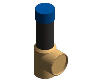 Revit, Bim, Store, Components, MEP, Object, Reliance, Water, Controls, RWC, Mechanical, Pipe, 104, Series, Potable, High, Capacity, PRV, Valve