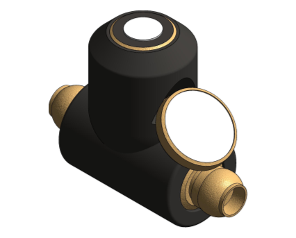 Revit, Bim, Store, Components, MEP, Object, Reliance, Water, Controls, RWC, Mechanical, Pipe, Valve, Thermal, Balancing, Valve, Shakebite, TREG100060, TREG100065