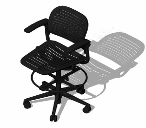 Cachet 487 Series Swivel Base Chair