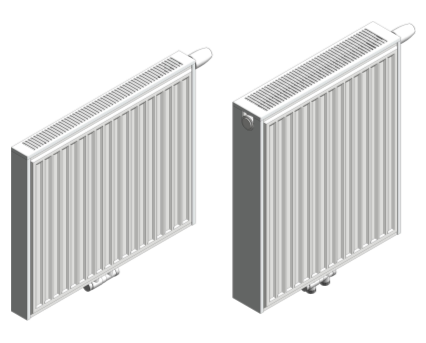 Revit, BIM, Download, Free, Components, object, objects, Stelrad, radiator, heating, mechanical, radical, range, equipment, radiators,TRV