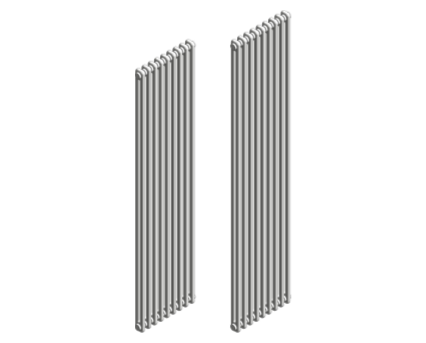 Revit, BIM, Download, Free, Components, object, objects, Stelrad, radiator, heating, mechanical, range, equipment, radiators,bathroom,kitchen, vita,column, vertical, series,restricted, wall, space
