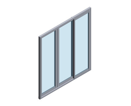 Technal GY55 Sliding Door / Window