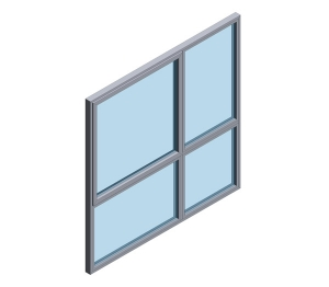 Technal FY65 SOLEAL High Performance Window System (Composite)