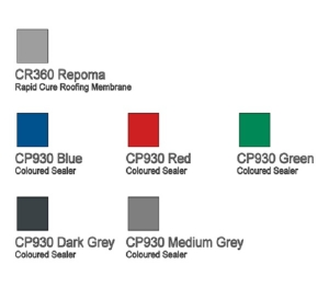 CR360/CP930 Repoma Rapid Cure Roofing System