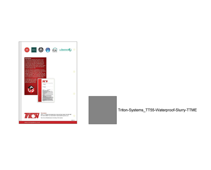 Revit, Bim, Store, Components, Object, 13, Triton, TT55, Waterproof, Slurry, TTME