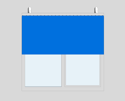 Revit, BIM, Download, Free, Components, Window, Décor, K6200, Anti, Ligature, Curtain, Track